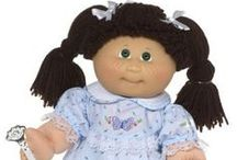 Barbie dolls/ Baby dolls/ my childhood (90's) / by Samantha Marshall