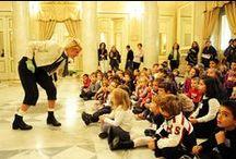 Il gioco dell'opera - Il Trovatore / Il Teatro Regio di Parma apre nuovamente le sue porte alla prima infanzia: pupazzi, marionette, educ-attori, cantanti e musicisti fanno vivere ai più piccini la magia dell'opera. Info: http://www.teatroregioparma.it/Pagine/Default.aspx?idPagina=57