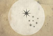 "Estrella XVII / ""The true Tarot is symbolism; it speaks no other language and offers no other signs."" -A. E. Waite"