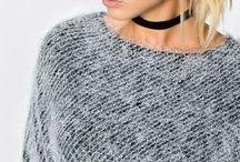 Jesień - królowa swetrów