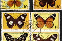 Insects post stamps
