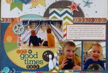 Masculine scrapbook pages / by Danielle Ali