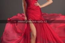 Evening gowns and bridal dresses