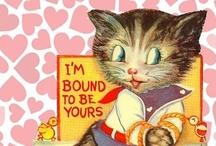 Vintage Valentines / I adore Vintage Valentines