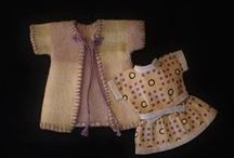 Vintage Antique Doll Clothing
