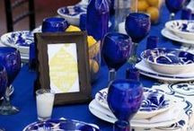 ~Tablescapes...Setting the table~ / by Debbie Robinson