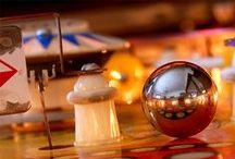Pinball Vintage / Máquina de Pinball antigas.