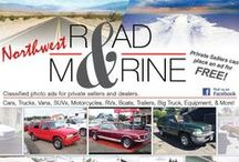 NW Road & Marine Magazine / Classics, Cars & Trucks, Motorcycles & ATVs, Boats & RVs, Equipment & Trailers, More!!