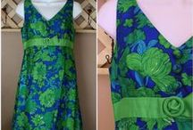 Vintage Ladies Clothing and Accessories / An Assortment of Quality Vintage Ladies Clothes, Dresses, Tops, Skirts, etc. and Accessories