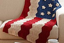 Crocheted Afghans / All kinds of crocheted afghans and pillows with some amazing color combinations and stitches.