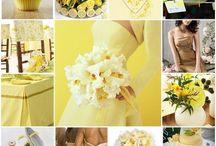 Lemon n blue / Wedding ideas