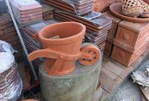 Carretto / Vaso da fiori