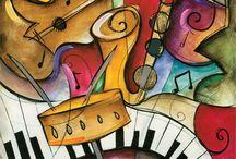 Música / Expresión universal del espíritu  / by Conny León