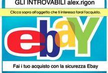 gli introvabili alex.rigon / VENDITA SU EBAY