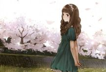 Anime Girls / Have fun pinning~ and try to please keep it appropriate thanks! :)