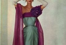 Drop-dead-gorgeous dresses / Fashion inspiration from different eras (although my favourite periods are circa 1890-1920. And the 60's and 70's).