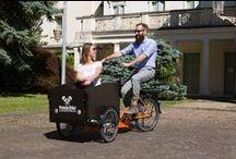 BICI E TRICICLI DA TRASPORTO - CARGOBIKES & TRIKES / SUV (sport utility vehicles) - per muoversi velocemente e in modo divertente con la tua bici in città / to move quickly and having fun with your bike around the city