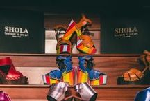 San Marino Collection × Shoe Cabinet / Fuses creativity and fashion imagination to deliver West African inspired shoes and accessories for the dynamic woman. What do your shoes reveal about you?