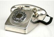Teléfonos y radios antiguas / ¿Quieres darle a tu hogar un toque vintage?