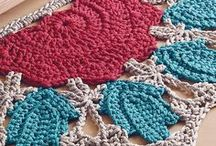 Crochet for the Home / Crochet project, patterns, and inspiration pieces that are perfect for adding that handmade touch that makes your house a home. Crochet patterns, crochet rugs, coasters, crocheted curtains, pillows, decorations, tablecloth, doilies, crochet for the home