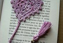 Crocheted Bookmarks / Patterns and inspiration for crocheted bookmarks.