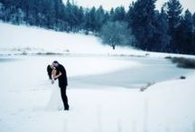 Winter Weddings / Here in the Pacific Northwest our winters are as beautiful as they can get. The sun continues to shine and the snow glistens and cascades down across our property; showcasing all that is wonderful about this magical time of year!