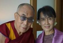 HH the Dalai Lama,HH the Karmapa and the missed Panchen Lama / by Tibet Tenzin