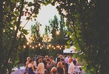 Bistro Lights I Beacon Hill / We were so excited to debut our new bistro lights last spring over our Upper Lawn Reception space! This only adds to the beauty of your outside event and makes for the perfect 1st Dance...