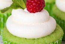 Cupcakes / galerie, inspirace, recepty na zdobené mufínky