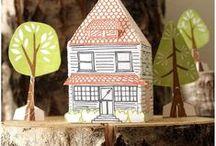 LA CASA / Unitats didàctiques per a treballar les parts de la casa, així com el vocabulari bàsic.