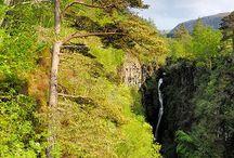 Dramatic Corrieshalloch Gorge / Scotland at its natural and dramatic best at Corrieshalloch Gorge   http://www.locomotionscotland.co.uk/scotland-road-trip/  #waterfall #scotland