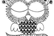 Zentangle / Kreativní relaxační kreslení