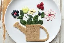 Playing with food / Remember to let your kids play with food!
