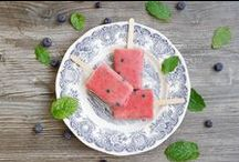 Healthy ice pops for kids