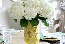 Spectacular Spring / Spring home decor inspiration
