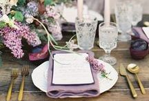 Lilac & Graphite Wedding Inspiration / Featuring Lilac & Graphite Dresses Available at Nordstrom.