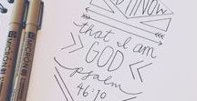 Christianity / favourite one - Bible journaling, reading plans, verses...