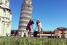 Just Fun @ Leaning Tower of Pisa, Tuscany, Italy / Just Fun @ Leaning Tower of Pisa, Tuscany, Italy