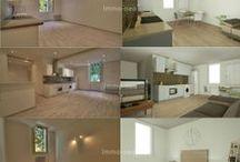Suggestions d'aménagement / Dans ce tableau, découvrez nos suggestions d'aménagement d'un appartement vide grâce aux réalisations 3D !