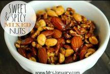 ALL NUTS & FRUIT & NUT BARS / AND BRITTLES..ENJOY / by Deborah Henderson