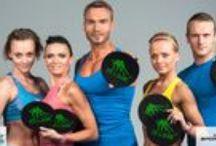Fit & Slide / Fit & Slide new fitness training sessions created by Joanna Brzeziski and Dariusz Brzeziski #brzezinscytrenuja