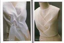   fabric manipulation   / moulage