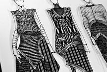   fashion sketching, illustrations  