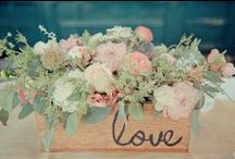 "Wedding Flowers / From simple to extravagant to super unique...choose wedding flowers that say ""you""."