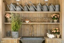 Potting Benches/Sheds / by Pam LaNeir