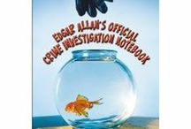 Edgar Allan's Official Crime Investigation Notebook / Inspiration and images for Edgar Allan's Official Crime Investigation Notebook by Mary Amato. Images include: Mary Amato, goldfish, investigation notebooks, kid sleuths, kid detectives, kids writing poems.
