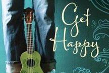 Get Happy / Images related to my book Get Happy: seahorses, mermaids, ukuleles, Jamey Geston, Hapa, YA novels, more.