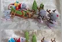 NATALE UNCINETTO - xmas crochet