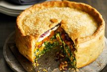 Recipes: Pies / Savoury meat pies and tartlets.