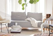 L I V I N G . R O O M / the living room is for LIVING.  keep it casual, keep it comfy, and keep it simple.
